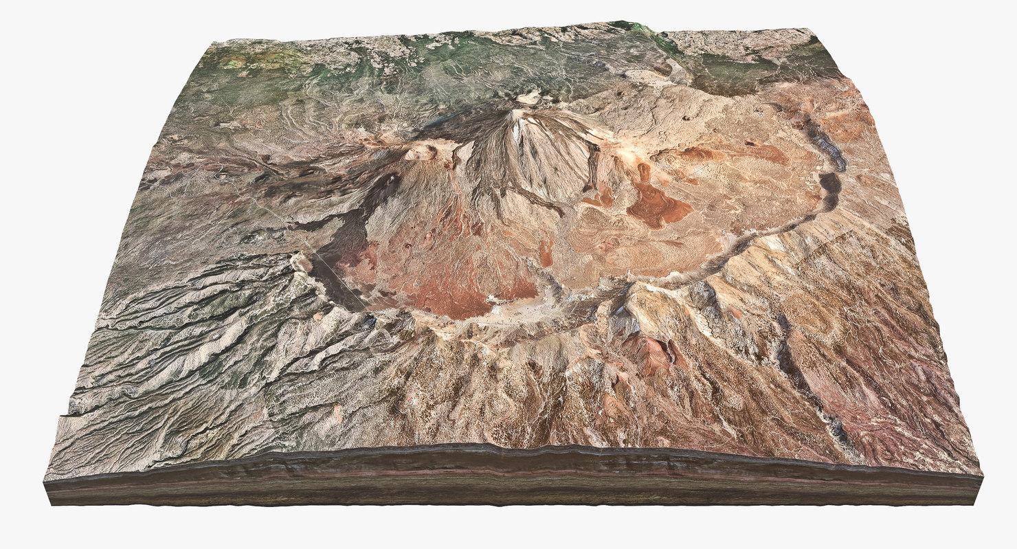 volcanic peak max