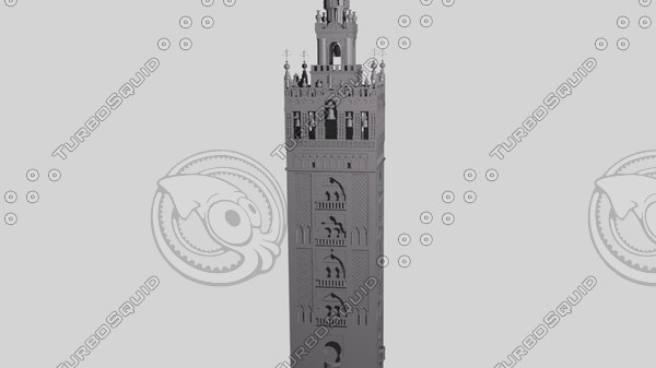 3d model seville cathedral