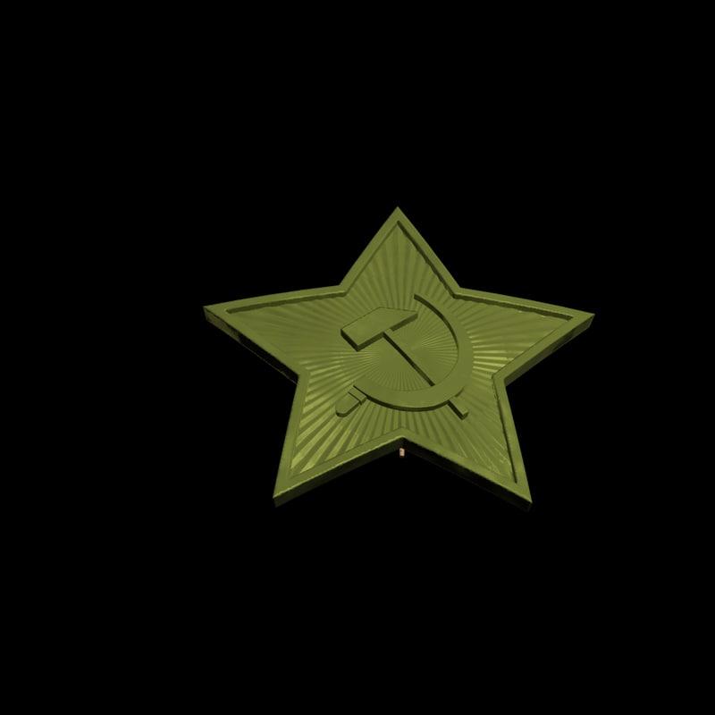 soviet star max7 3d model