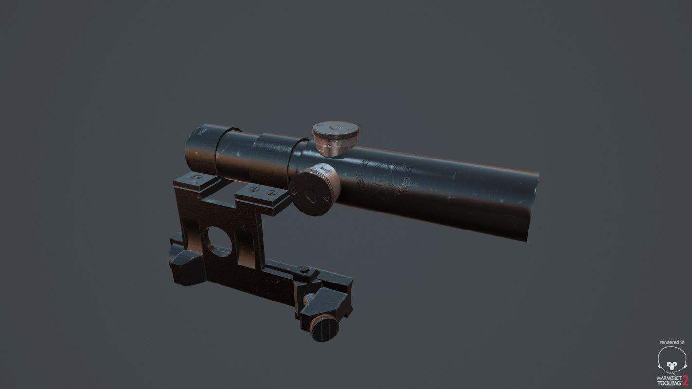 pu scope 3d max