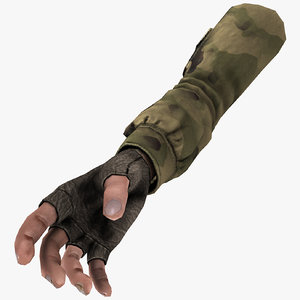 3d hand person shooter model