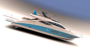 77 superyacht ips 3d max