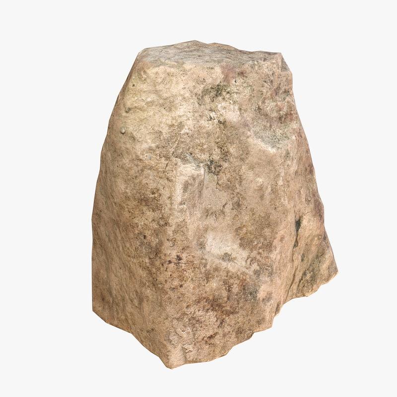 stone scan 3d model