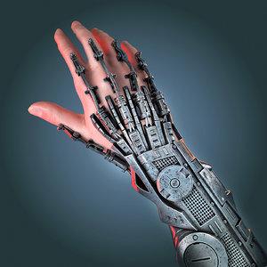 3d bionic hand model