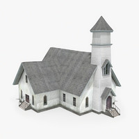 church games 3d c4d