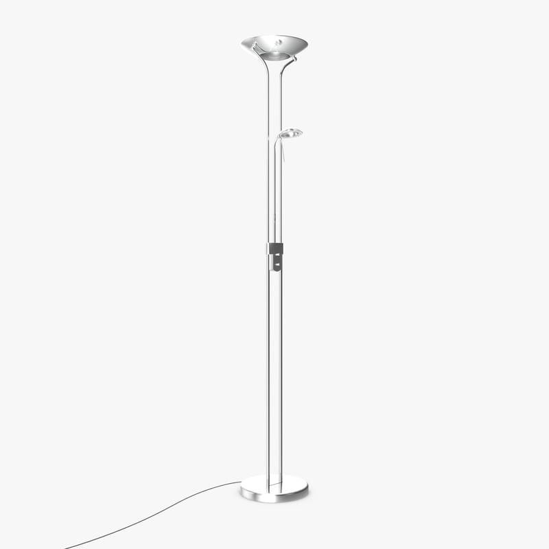 3d model standalone floor lamp lighting