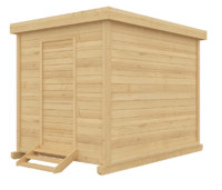 free max model house wooden wood