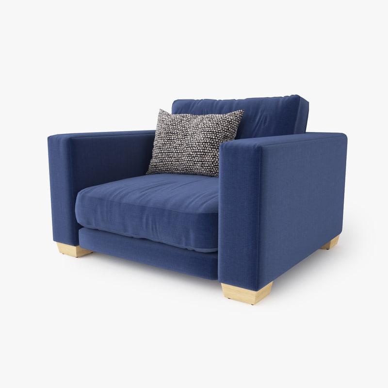 jardan enzo armchair 3d max