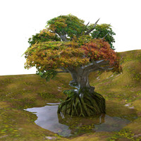 fantasy tree 3ds