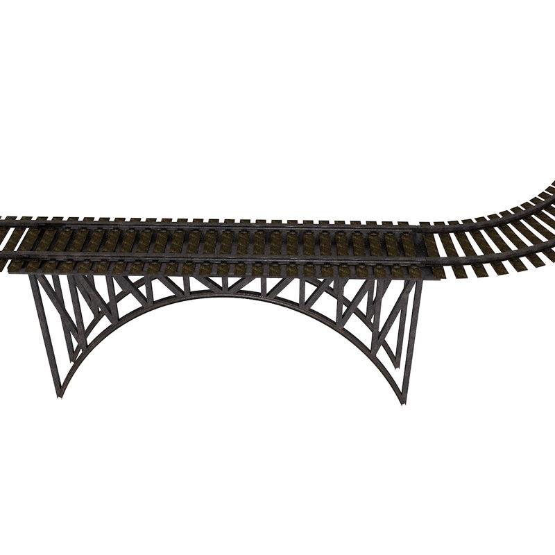 train tracks c4d