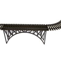 Train Rails and Bridge