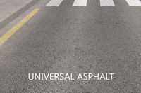 road universal asphalt 3d model