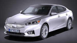 3d kia cadenza regular model