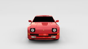 3d model porsche 944
