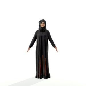 3d axyz character human