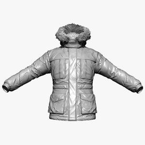 jacket zbrush 3d 3ds