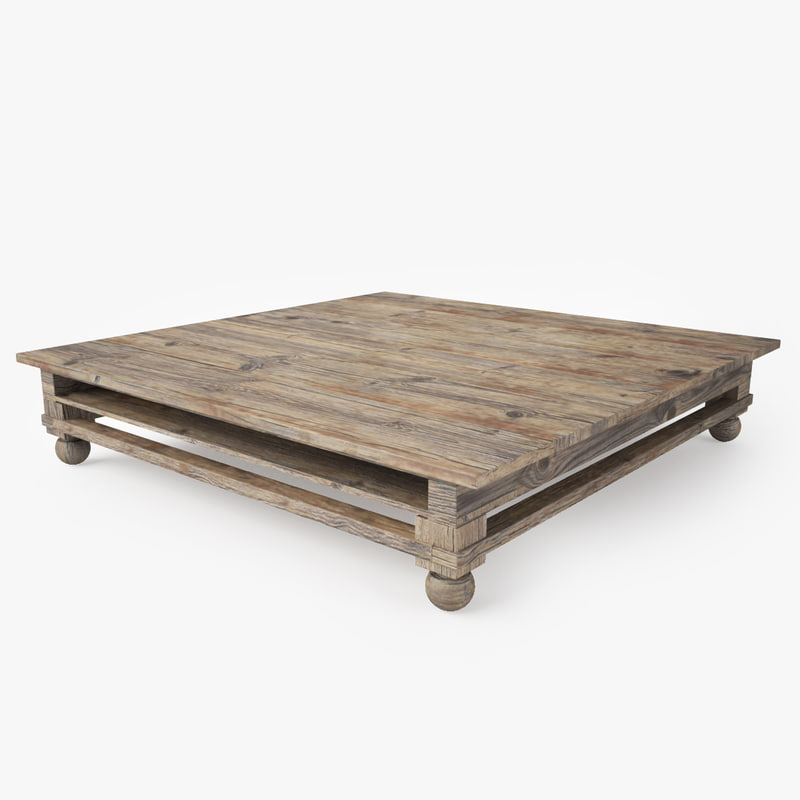 max rustic coffee table