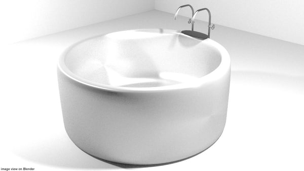bath bathtap 3ds
