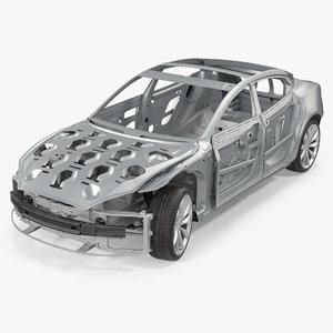 max tesla s frame chassis