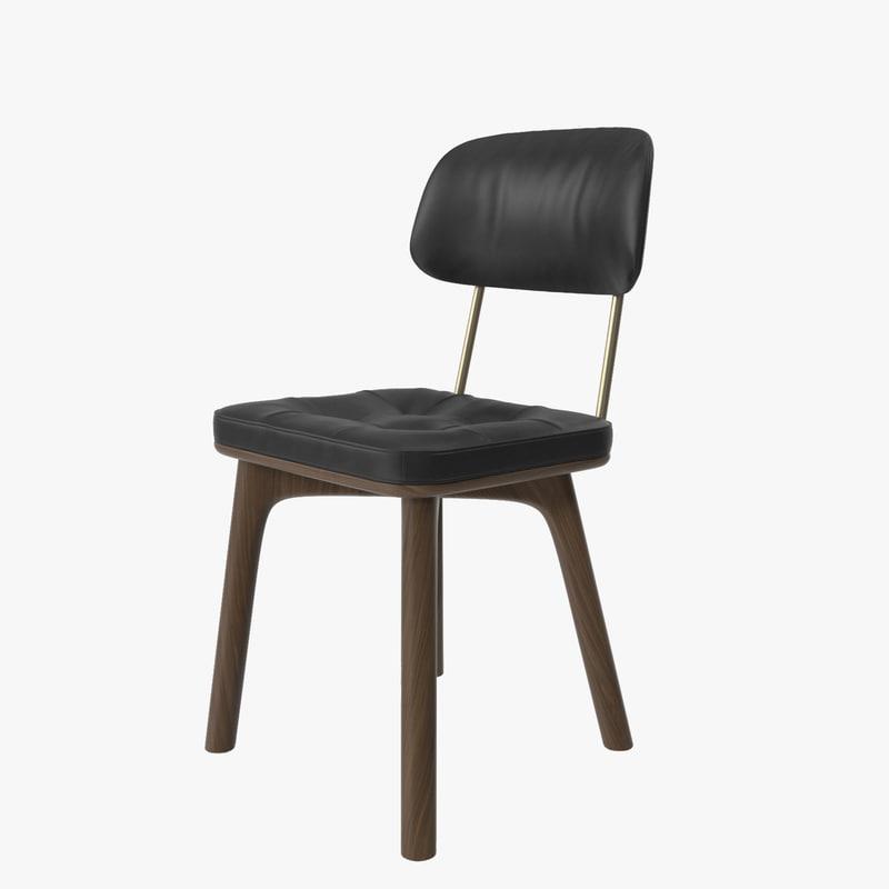 stellar works utility chair 3d max