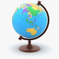 rotating globe max