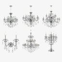 crystal chandelier lusso osgona max