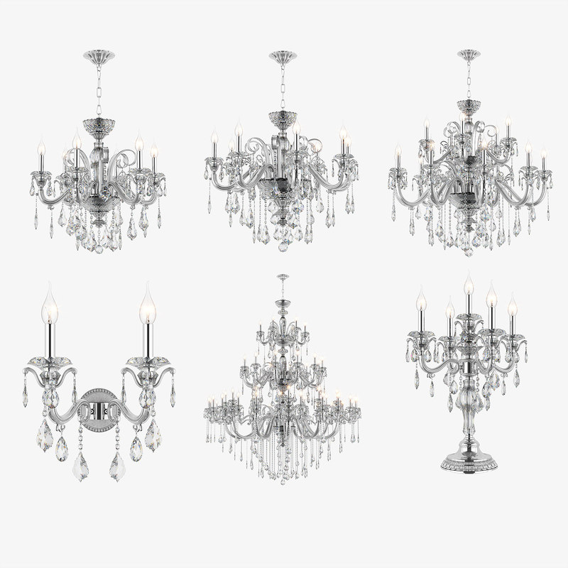 crystal chandelier lusso osgona max