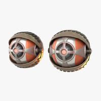 max robot eyes