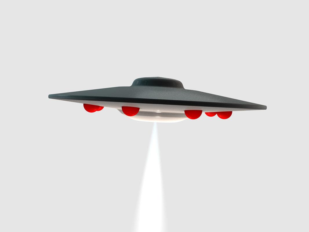 ufo 3d obj