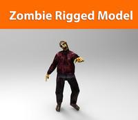 3d zombie ready