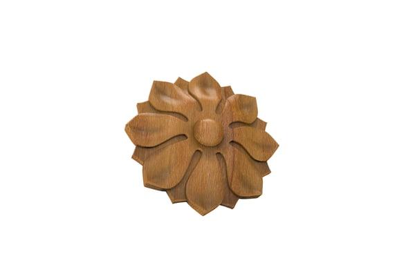carved rosette 3dm free