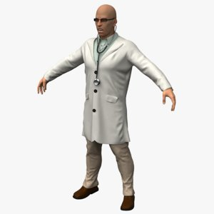 doctor character 3ds
