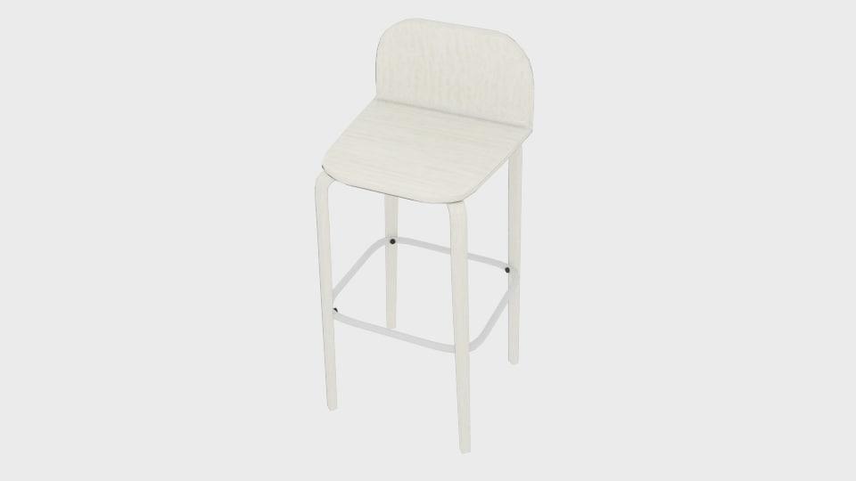 3d muuto visu bar stool