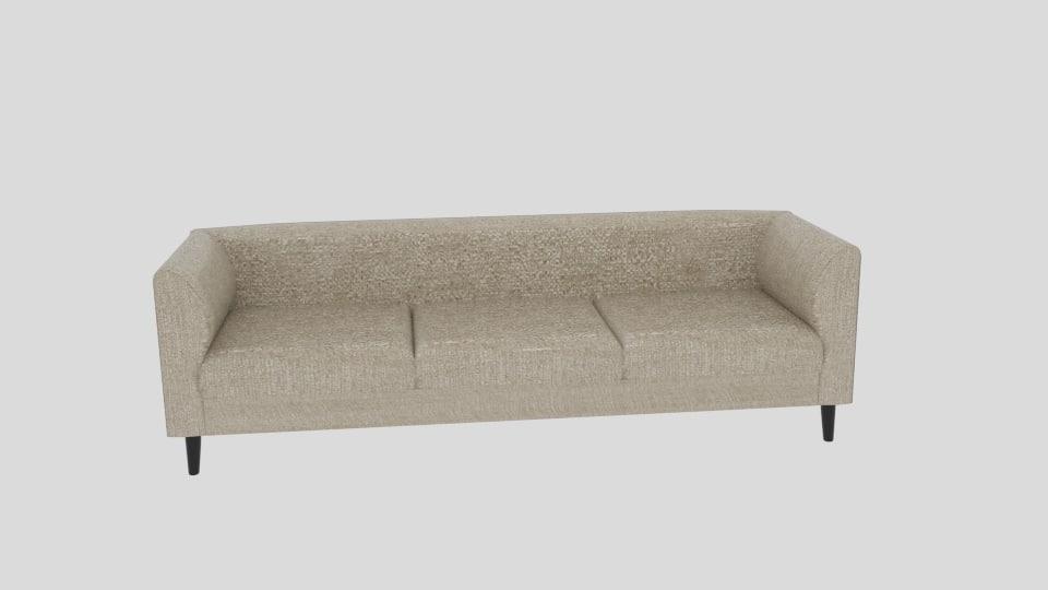 replay sofa polo 3d model