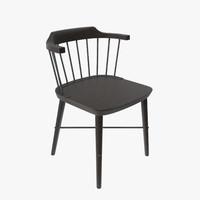 3d max stellar works exchange chair