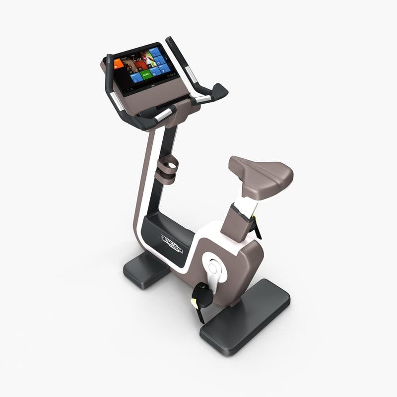 gym bike cardio artis 3d model