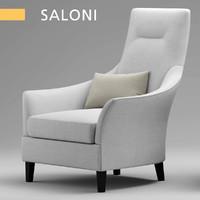 saloni bw-135 3d max