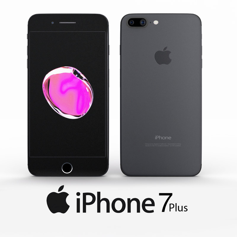 apple iphone 7 3d 3ds