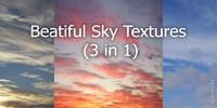 Beautiful Sky Textures (3 in 1)