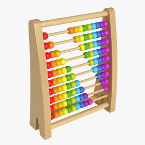 abacus toy obj