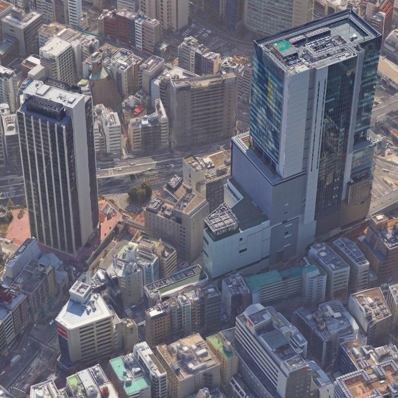 realistic city scenes max