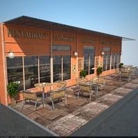 ma restaurant facade