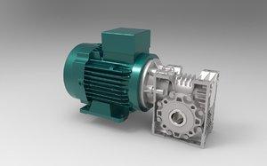 max worm gear motor