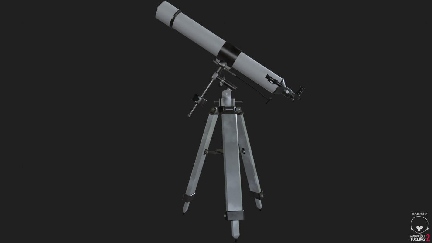 telescope scope obj