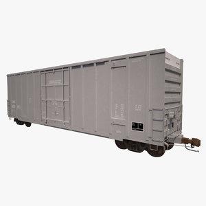 3ds max a405 boxcar rails cna