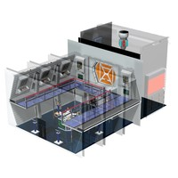 control room nacelle 3d model