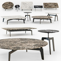 3d poliform tribeca coffee table model