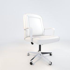 3d office armchair