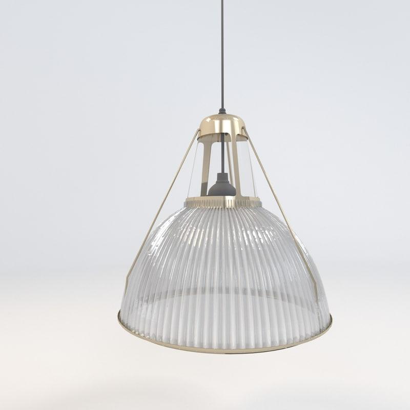 suspension lamp 3d max