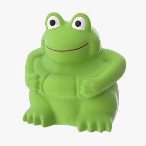 bath toy frog - 3d ma